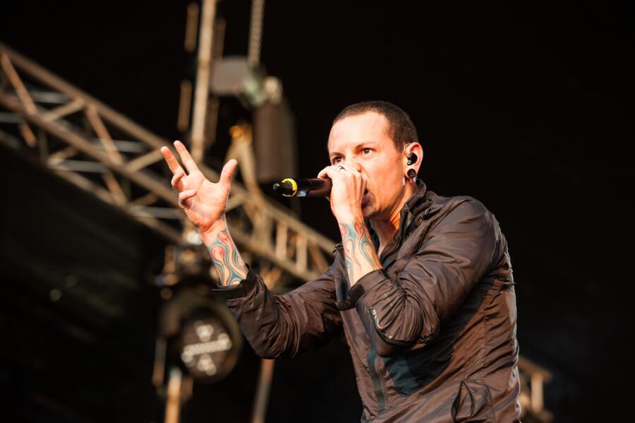 Фронтмен группы Linkin Park Честер Беннингтон