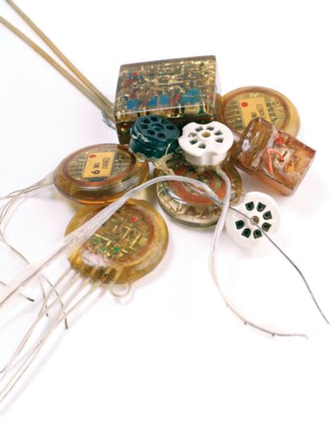Изобретенные Дельгадо стимосиферы для стимуляции мозга