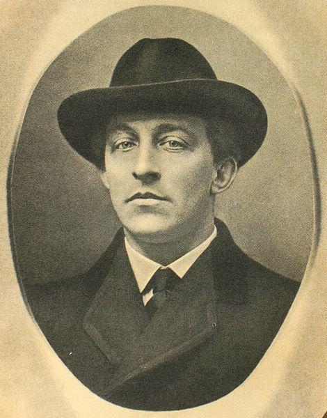 Александр Блок. Дореволюционное паспарту, между 1911-1917