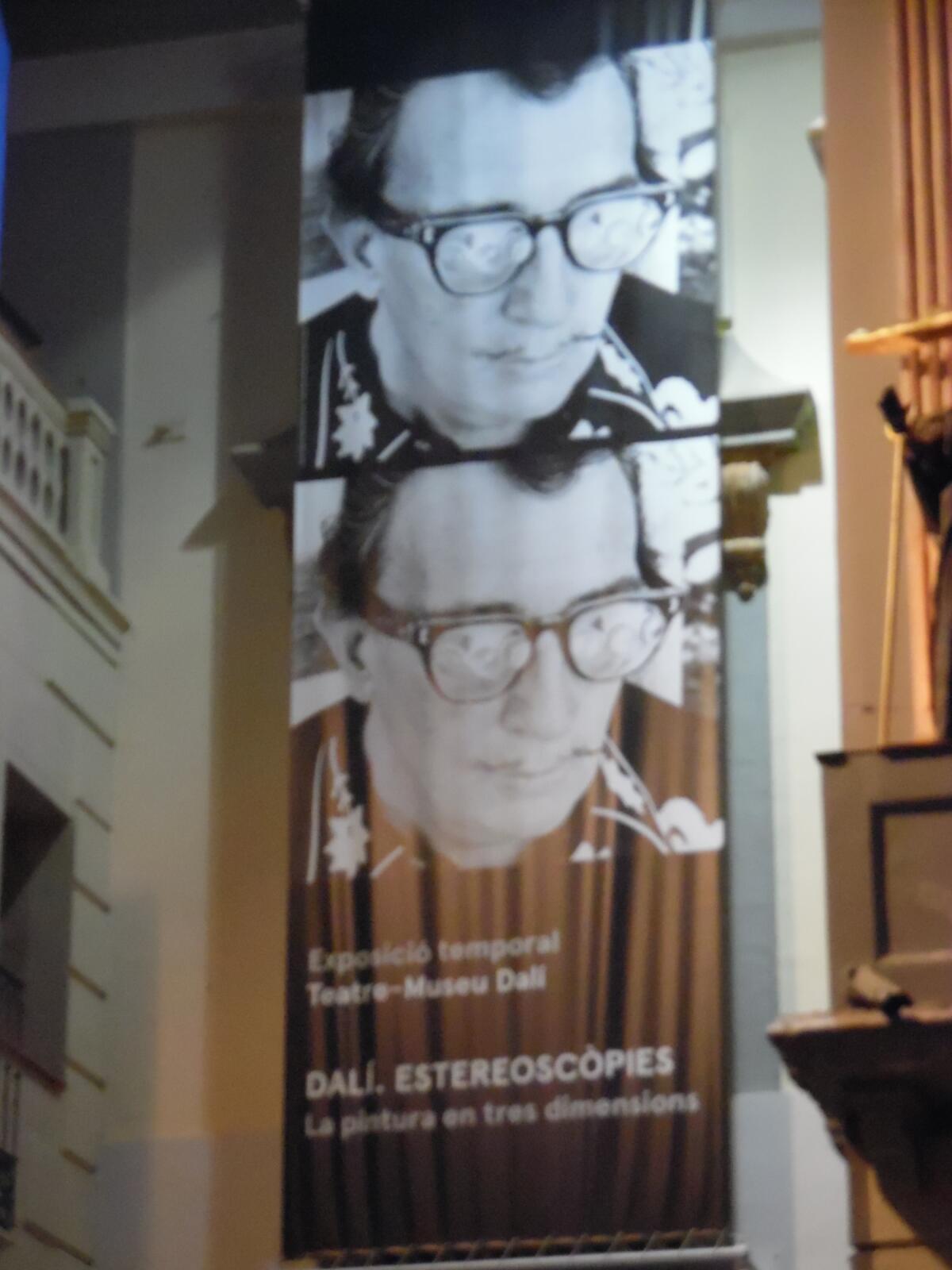 Экспозиция в музее Сальвадора Дали