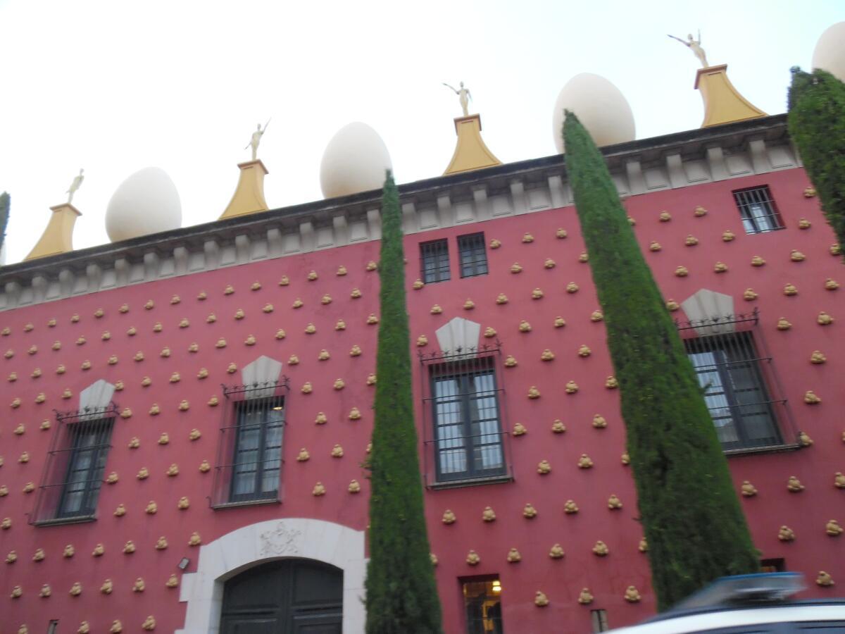 Здание музея Сальвадора Дали