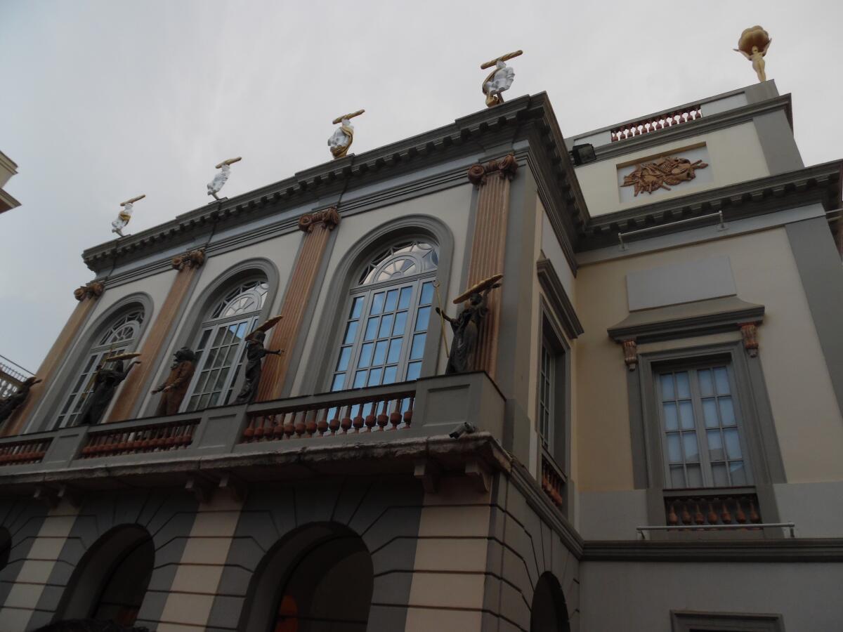 Вход в музей Сальвадора Дали