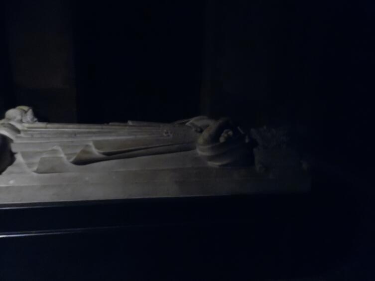 Останки короля Санчо Тихого, умершего в 1324 году