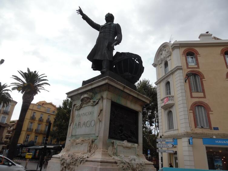 Памятник Доминику Франсуа Араго́