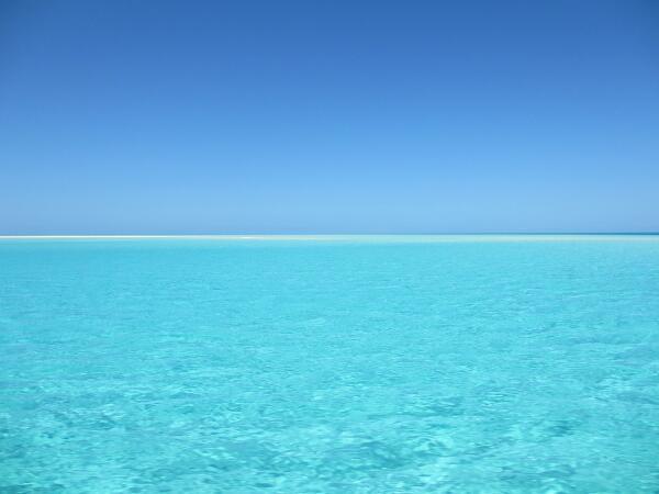 Где на Земле самая голубая вода?