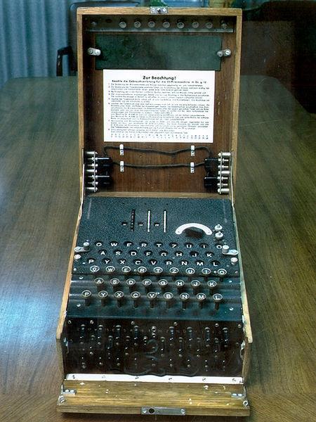 Та самая шифровальная машина