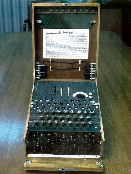 Та самая шифровальная машина «Энигма»
