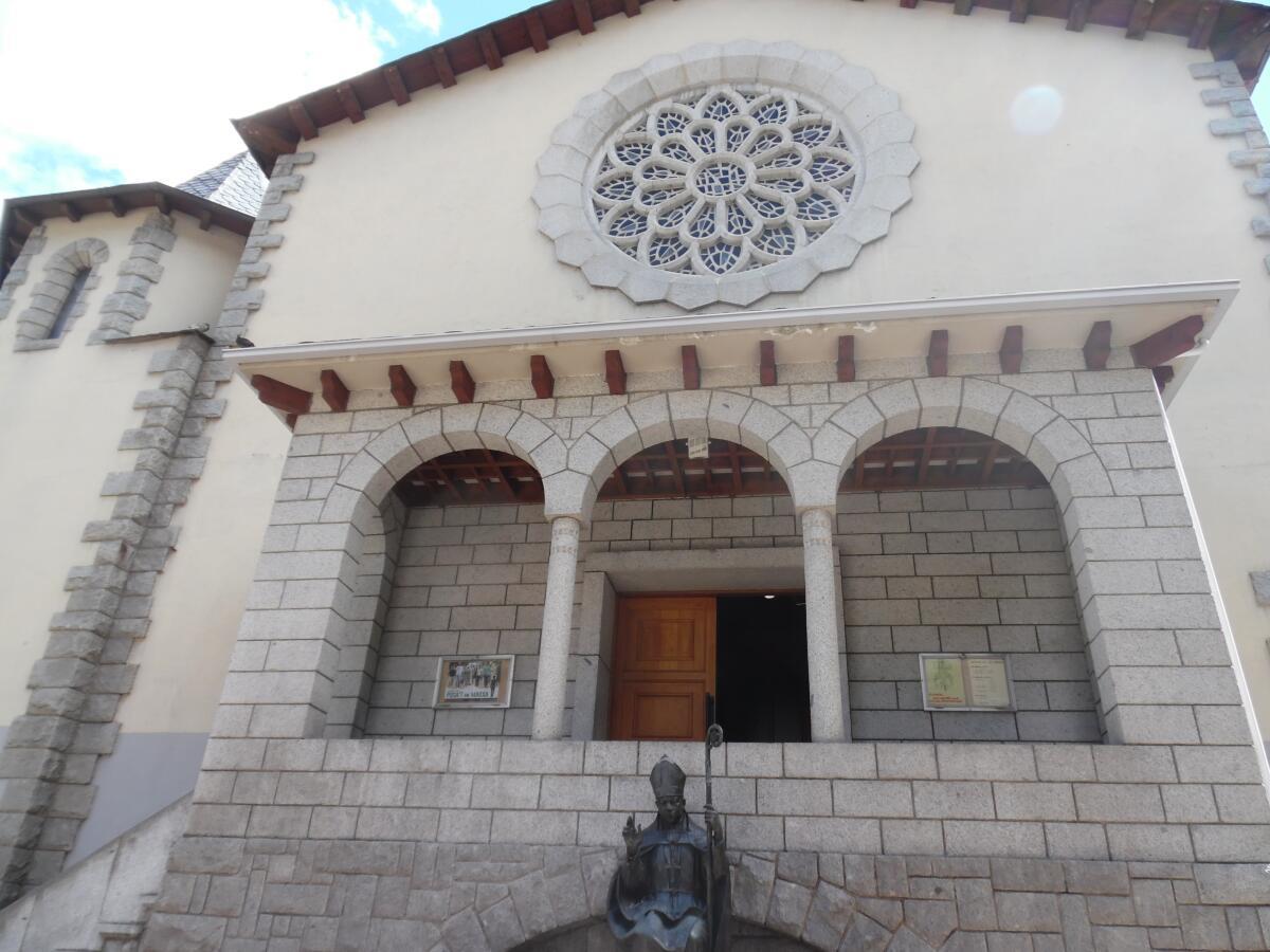 Церковь Св. Арменголя, вход