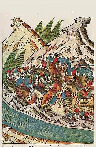 Битва на реке Пьяне, 2 августа 1377 г.