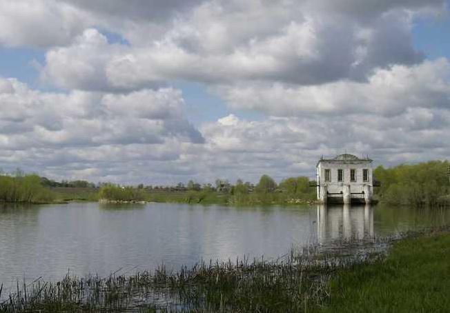 Река Пьяна сегодня— гидроэлектростанция в селе Ичалки