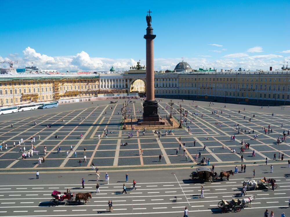Александрийская колонна и Главный штаб