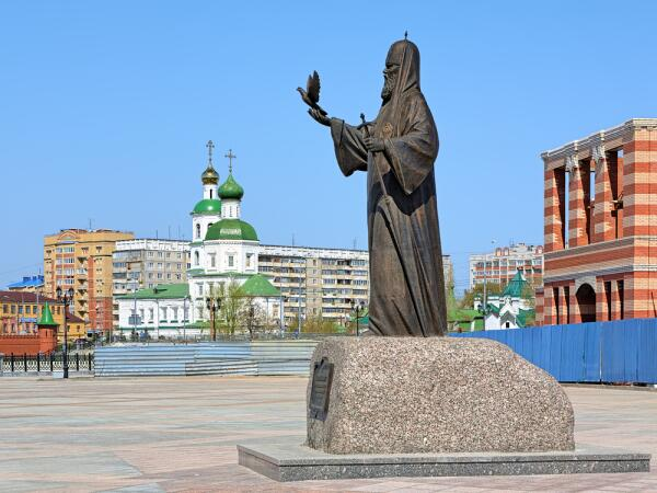 Памятник патриарху Алексею II, Йошкар-Ола