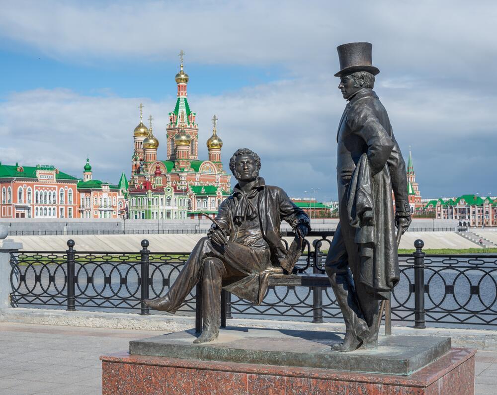 Памятник Пушкину, Йошкар-Ола