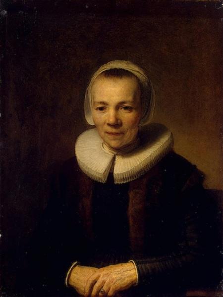 Рембрандт ван Рейн, «Портрет Берты Мартенс, жены Германа Думера», 1640г.