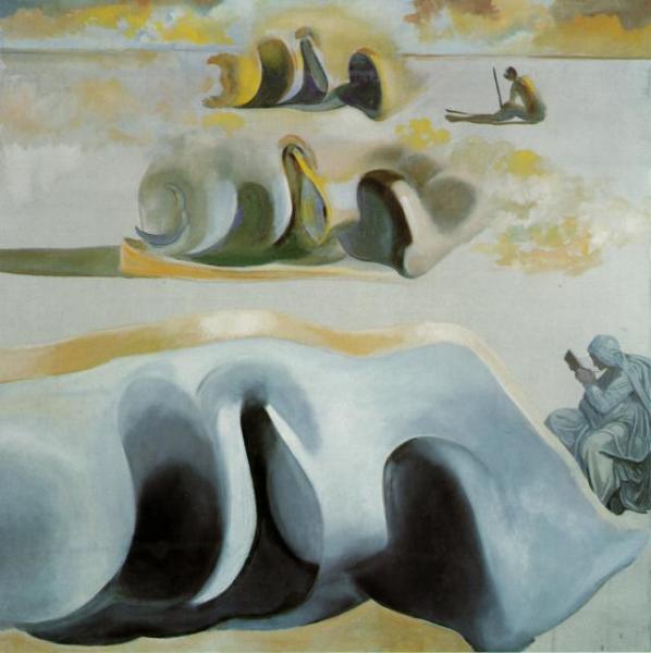 Сальвадор Дали, «Три знаменитые загадки Гала», 1982 г.