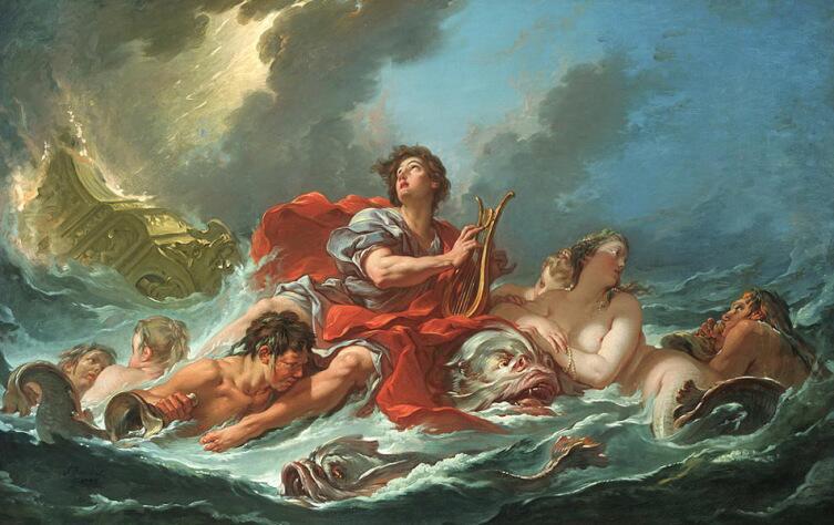 Франсуа Буше, «Арион на дельфине», 1748 г.