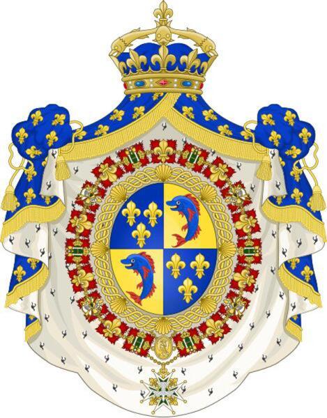 Герб Дофинов Франции