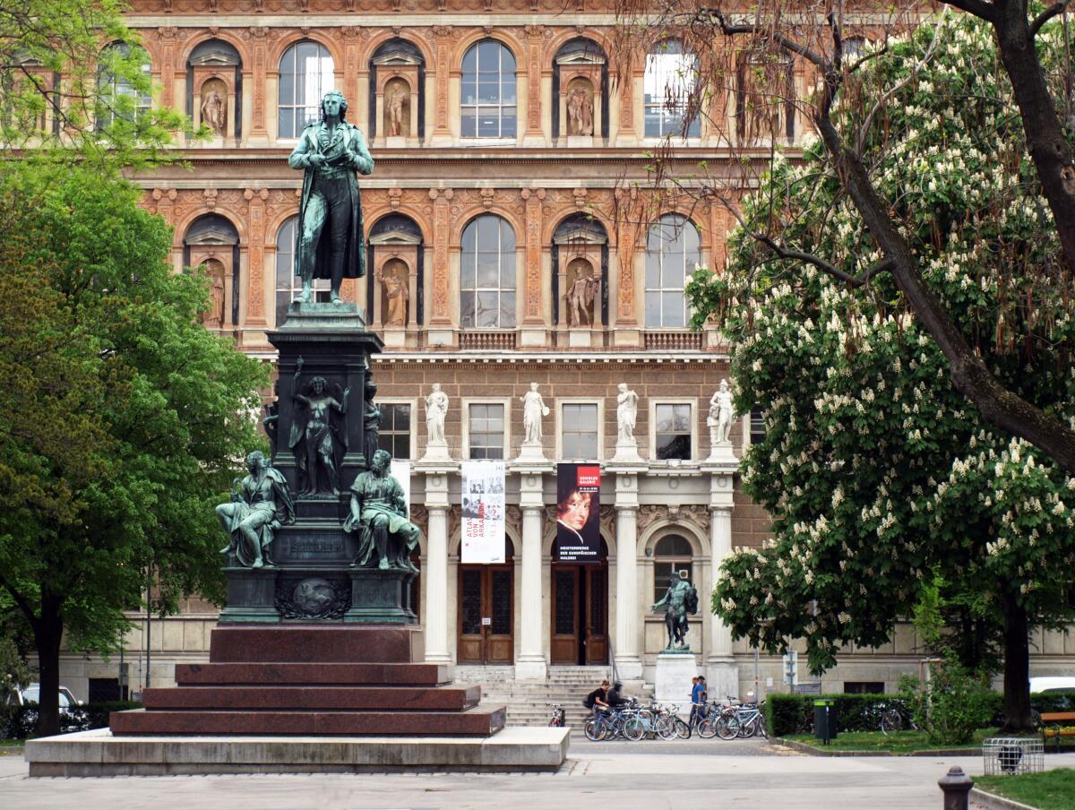 Памятник Фридриху Шиллеру