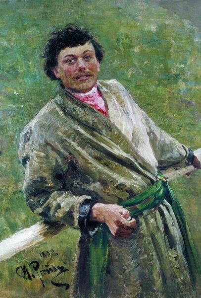 И. Е. Репин, «Белорус», 1892г.