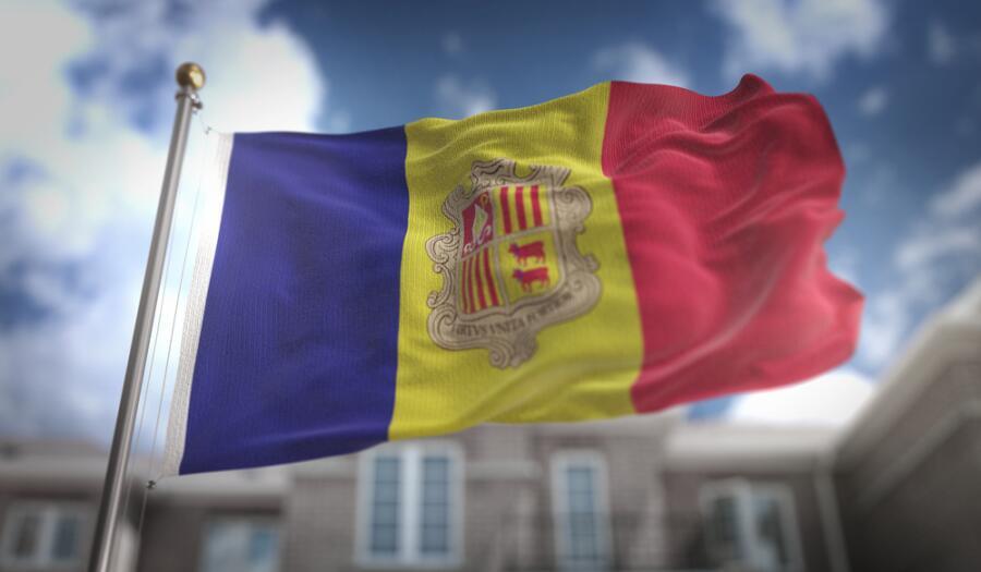 Государственный флаг княжества Андорры