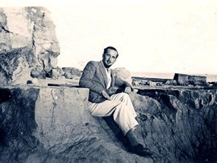 Борис Михайлович Скосырев, Португалия, 1935 г.