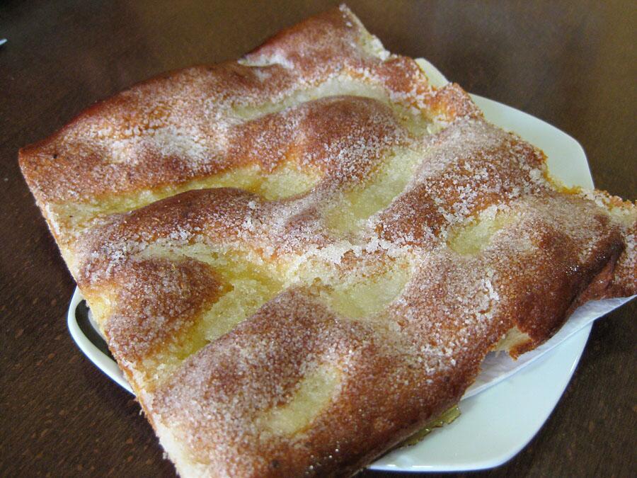 Сладкий каталонский пирог