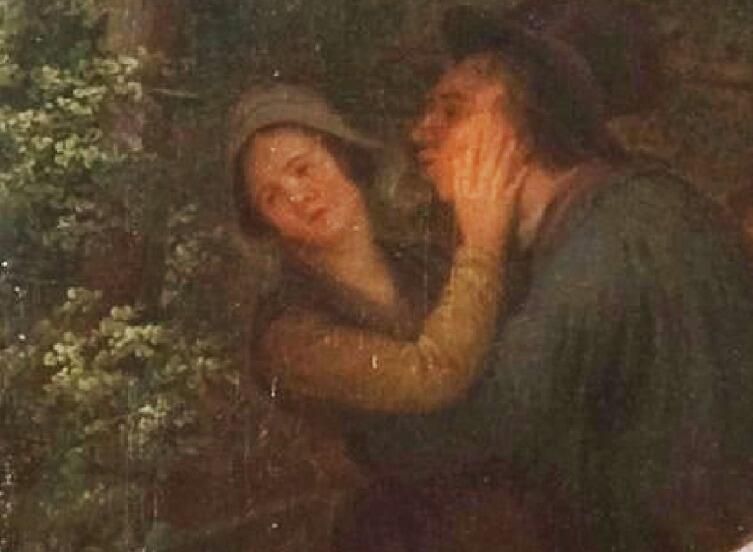 Базиль де Луз, «Праздник в деревне», фрагмент «Деревенский флирт»
