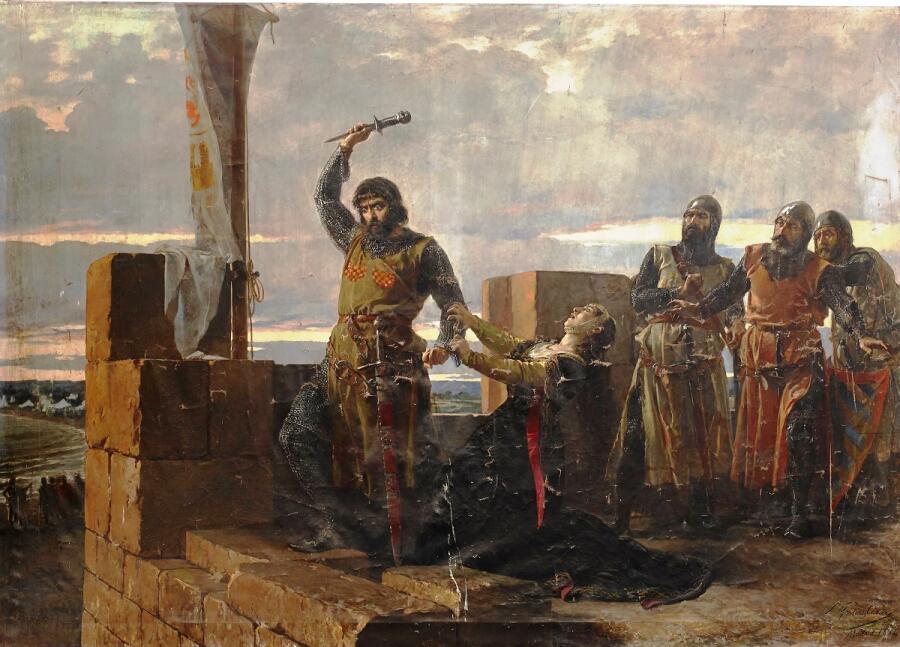 Сальвадор Мартинес Кубелис, «Добрый Гусман», 1884г.