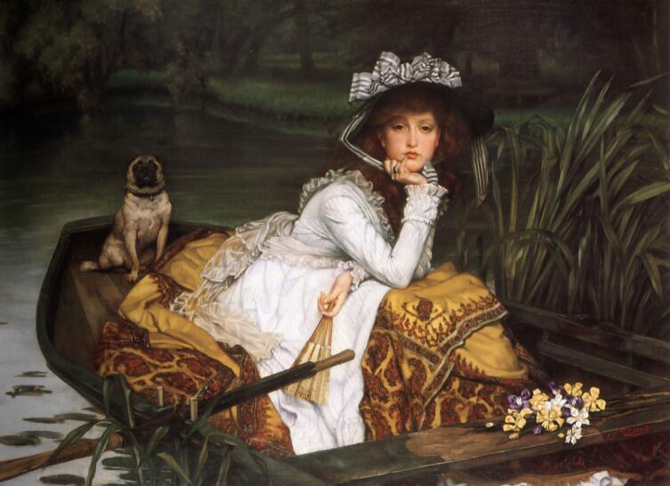 Джеймс Тиссо, «Девушка в лодке»