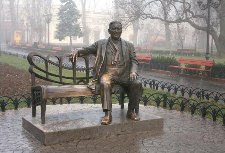 Памятник Леониду Утесову, Одесса