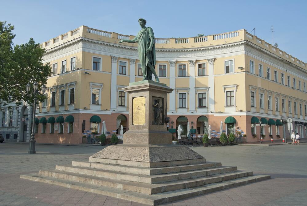 Памятник Дюку де Ришелье, Одесса