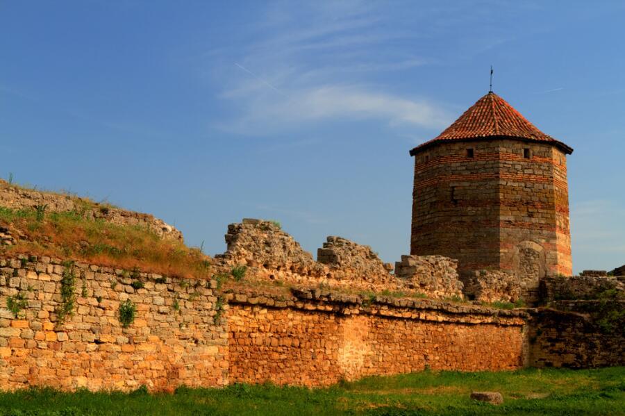 Старая крепость в городе Белгород-Днестровский, Одесская область