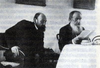 Лев и Илья Толстые, 1903 год