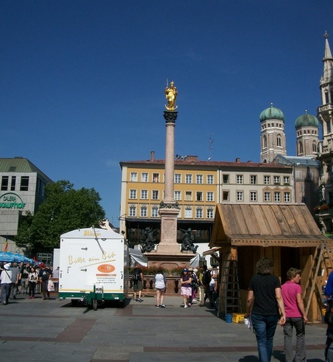 Колонна Марии, Мюнхен