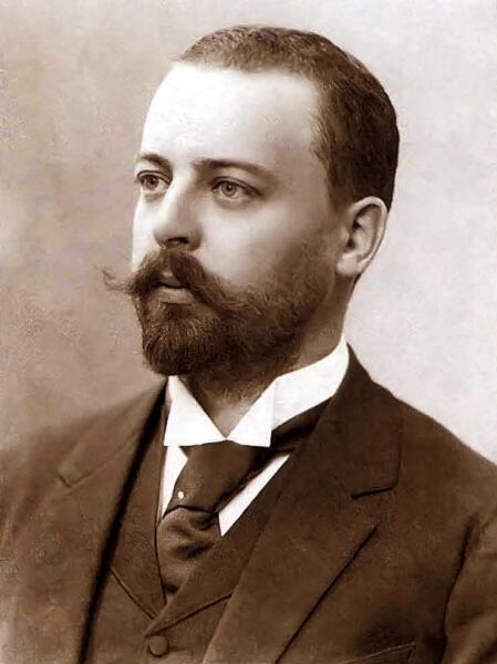 Архитектор Ф. О. Шехтель в 1890-х годах