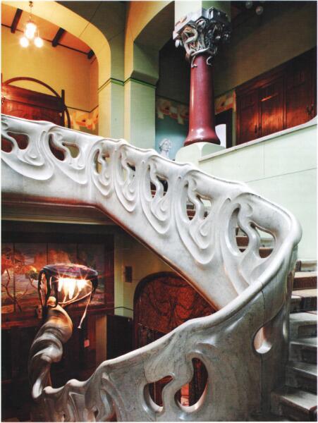 Лестница-волна в Музее-квартире А. М. Горького