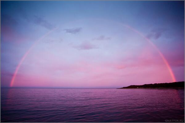 Радуга, Соловецкие острова