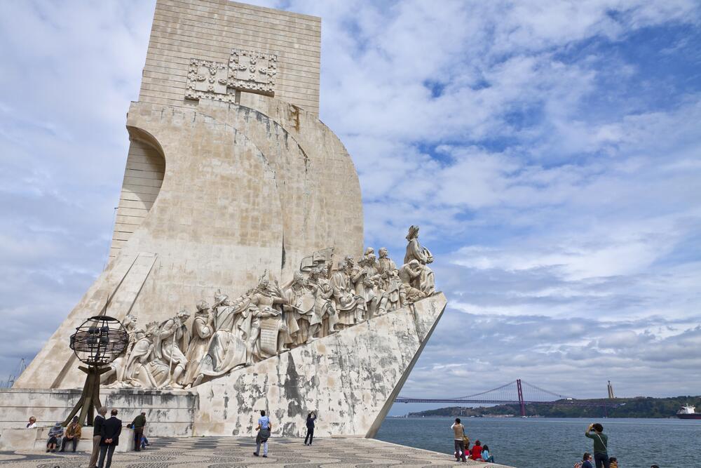 Памятник первооткрывателям, Лиссабон, Португалия