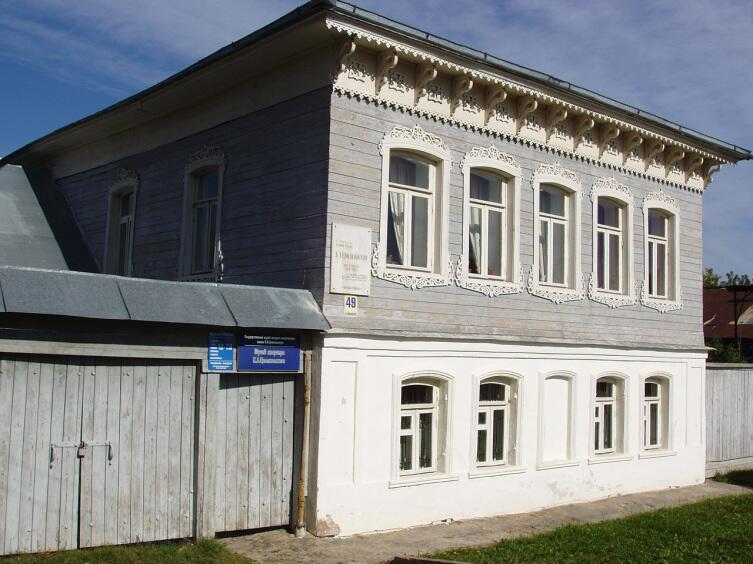 Дом-музей К. Э. Циолковского в Боровске
