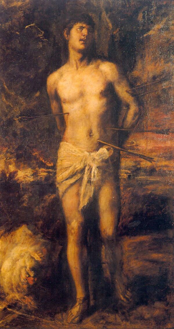 Тициан, «Святой Себастьян», 1570г.