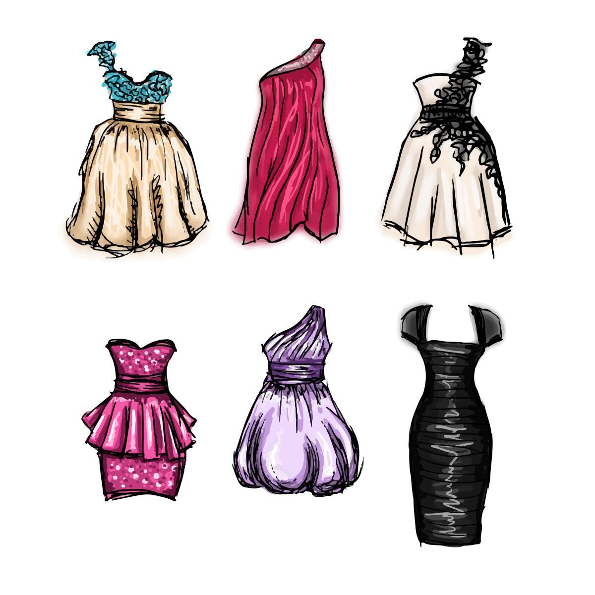 Коктейльные платья 2017−2018