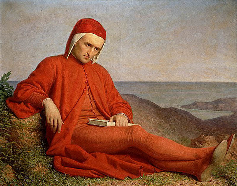 Domenico Petarlini, «Изгнанник Данте»