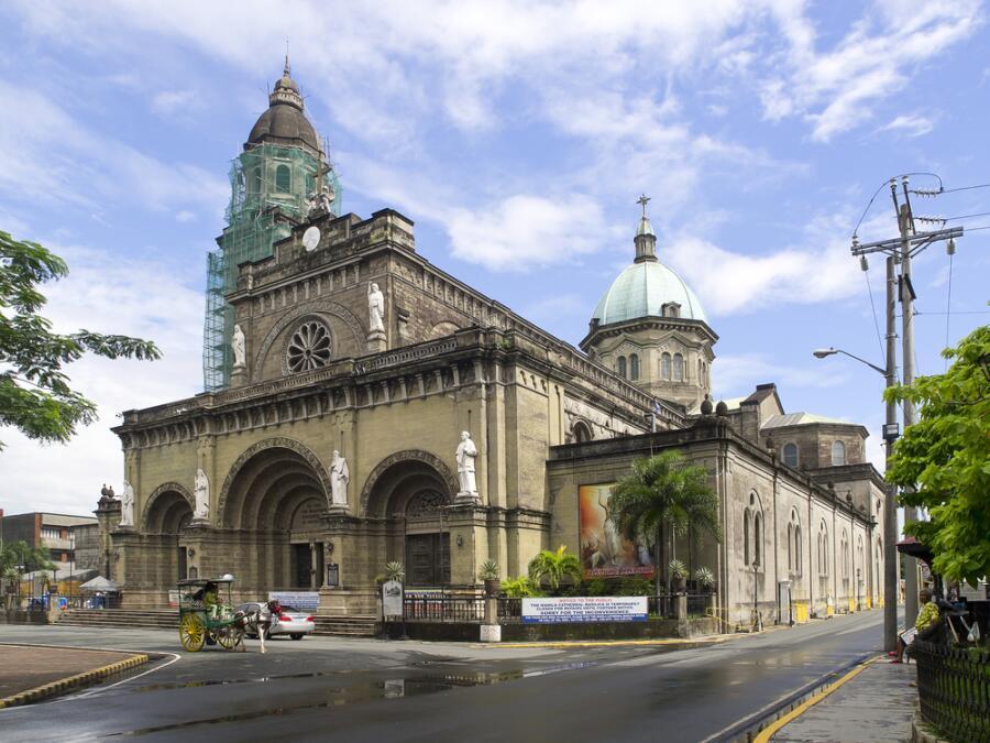 Кафедральный собор Манилы. Чем интересна его история?