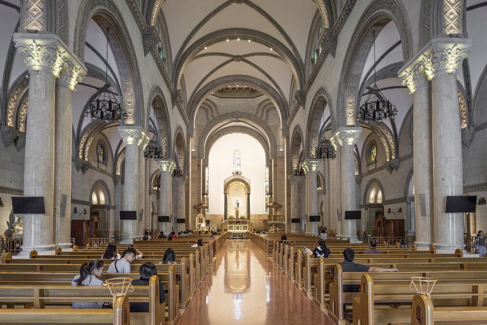 Кафедральный собор Манилы, внутренний интерьер