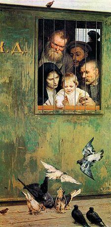 Н. А. Ярошенко, «Всюду жизнь», 1888г.