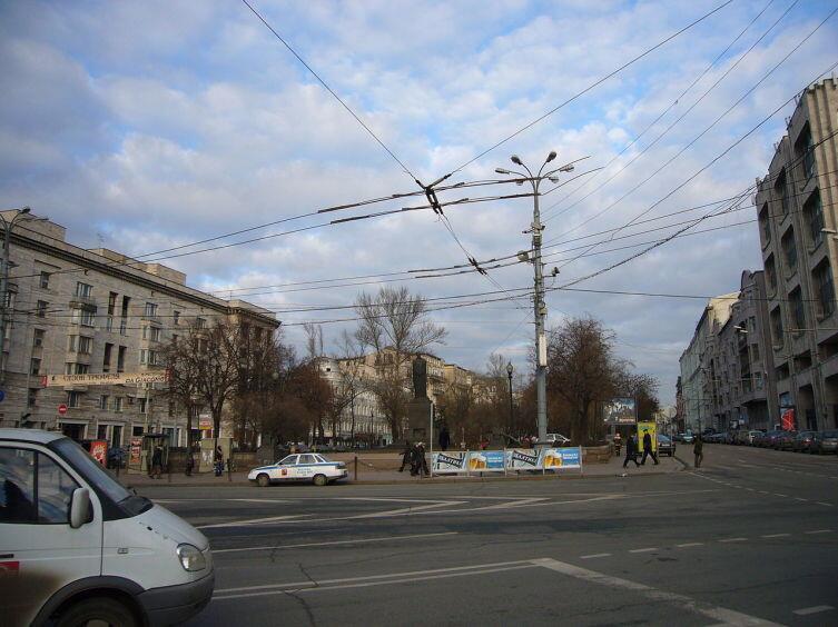 Тверской бульвар со стороны Б. Никитской, Москва