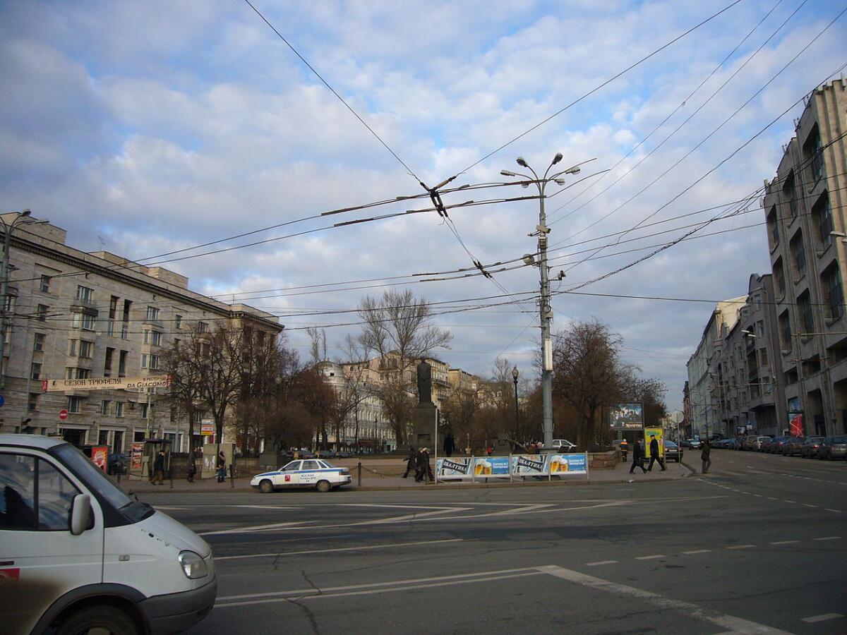Тверской бульвар со стороныБ. Никитской, Москва