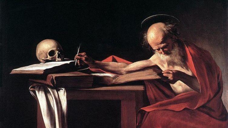 Караваджо, «Святой Иероним»