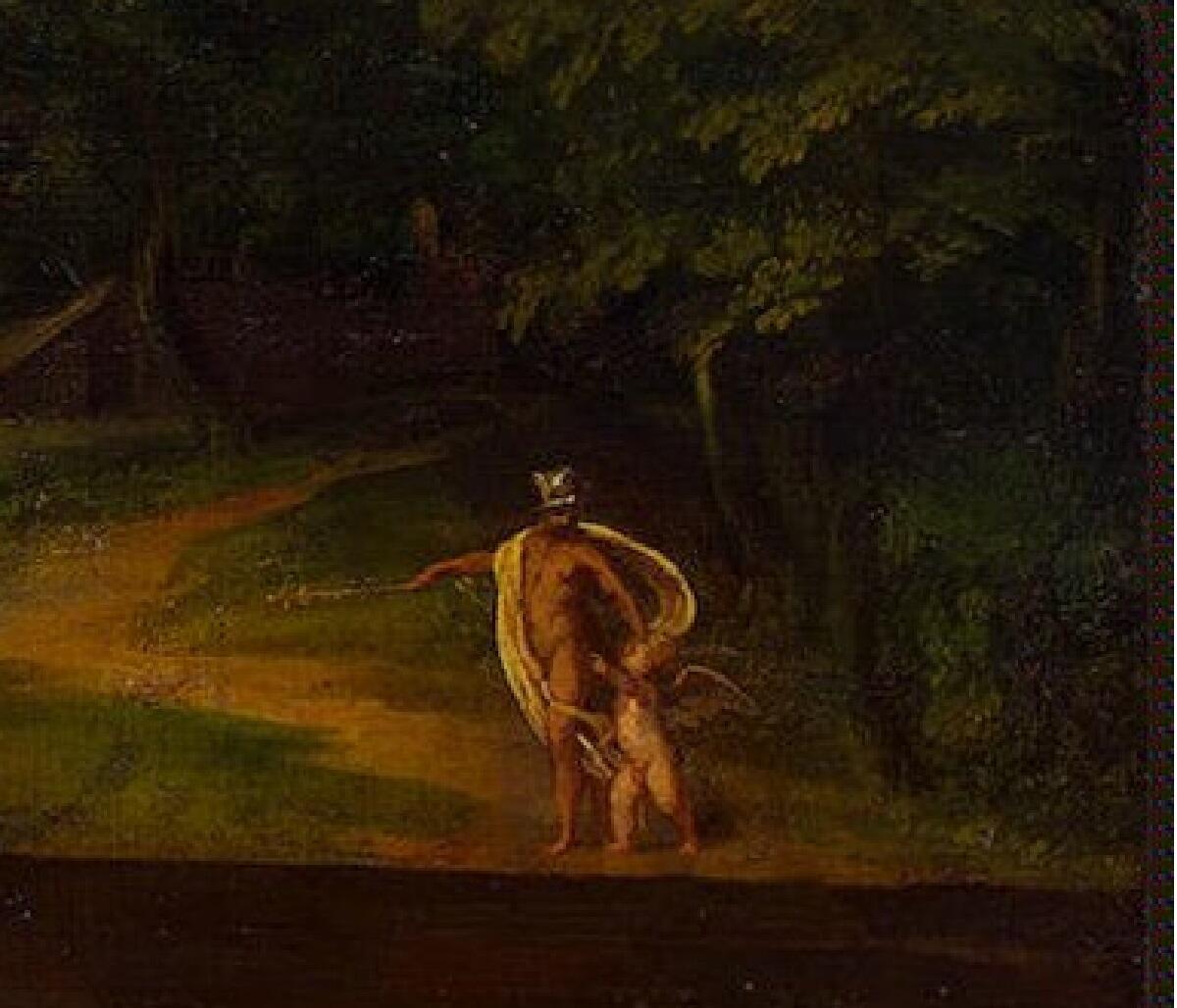 Ламберт Сустрис, «Венера», фрагмент «Марс и Эрот»