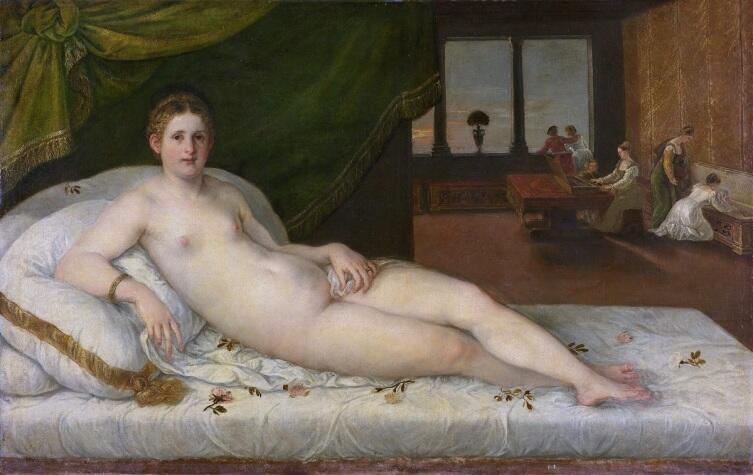 Ламберт Сустрис, «Венера», 1550г., Рийксмузеум, Амстердам, Нидерланды